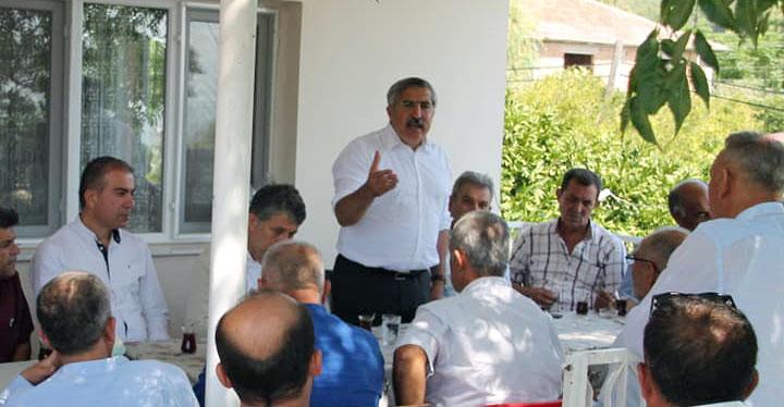 Milletvekili Yayman 15 Mahalle Muhtarı ile bir araya geldi