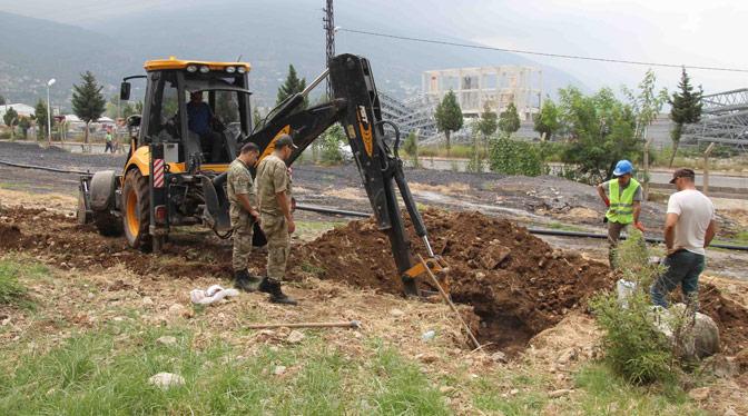 Ahmet Tor Kışlası'nın İçme Suyu Hattı Yenilendi
