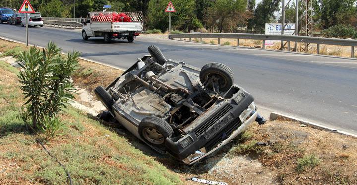 Hatay'da trafik kazası; 6 yaralı