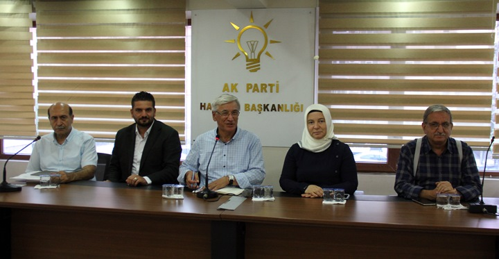 """AK Parti Hatay İl Başkanı Yeloğlu """"Kimseyi kandırmak gibi bir gayemiz yok"""""""