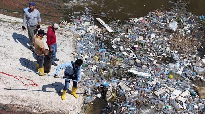 Asi Nehri'nden 1 Ayda 5 Ton Atık Toplandı