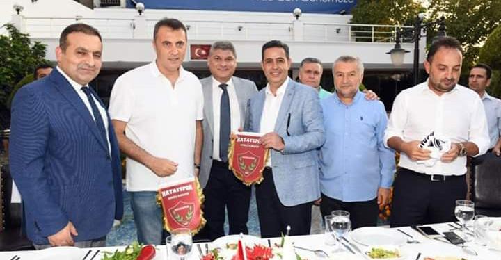 Beşiktaş Kulübü Başkanı Fikret Orman Hatay'da