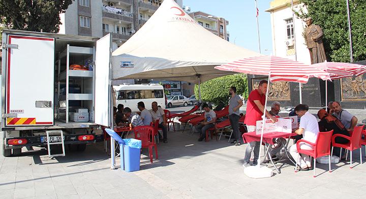 Kızılay Kan Bağışı için Kırıkhanlılardan destek bekliyor