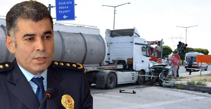 İl Emniyet Müdürü kaza yaptı, kazada Karabörk'ün eşi hayatını kaybetti