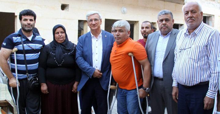 İl Başkanı Yeloğlu Reyhan ve Kumlu ilçelerini ziyaret etti