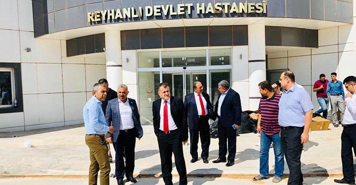 Reyhanlı Devlet Hastenesi yeni yerine taşınıyor