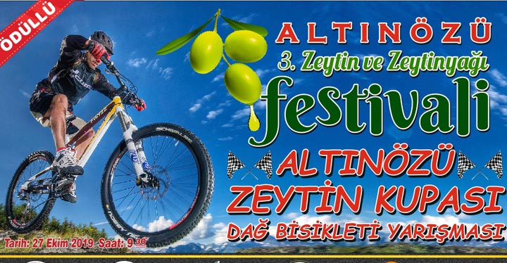 Altınözü'nde Zeytin Kupası Dağ Bisiklet Yarışması Düzenlenecek