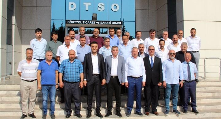 Dörtyol Ticaret ve Sanayi Odası Meslek Komite Toplantısını Yaptı