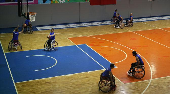 Engelsiz Basketbolcular Parkeye Çıkıyor
