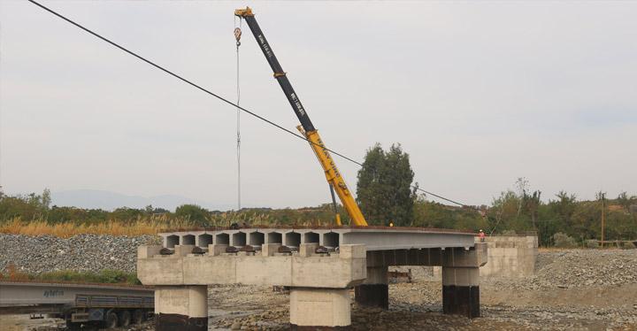 23. Köprüde Çalışmalar Devam Ediyor