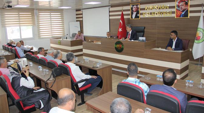 Belediye Meclisi 'Barış Pınarı Harekatı' için toplandı