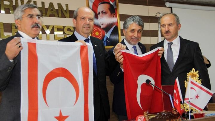 KKTC Başbakanı Ersin Tatar Kırıkhan'da