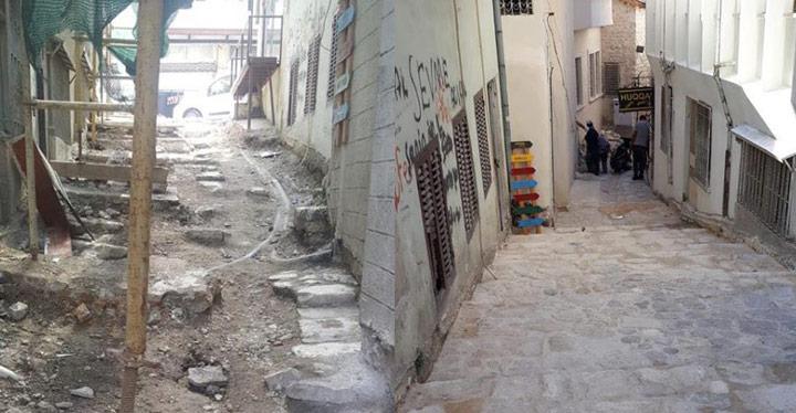 Antakya sokakları yeniden tasarlanıyor