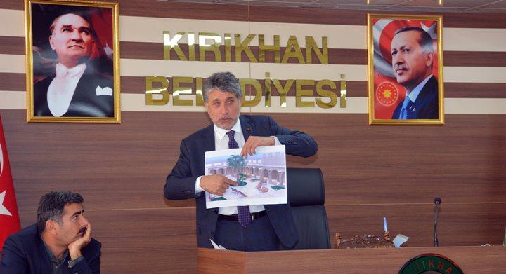 Başkan Yavuz'dan pazar yeri müjdesi