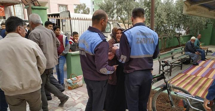Zabıta'dan Reyhanlı ve Kırıkhan'da dilenci operasyonu