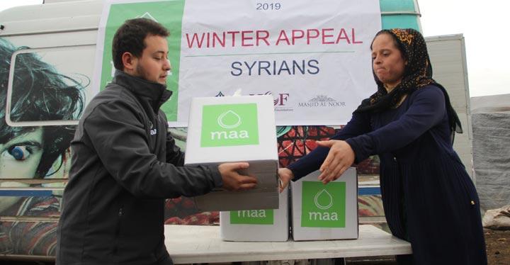 Avusturalyalı Müslümanlardan Suriyelilere gıda yardımı