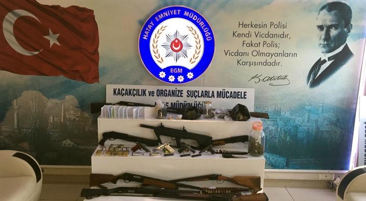Suç örgütüne operasyon; 19 gözaltı