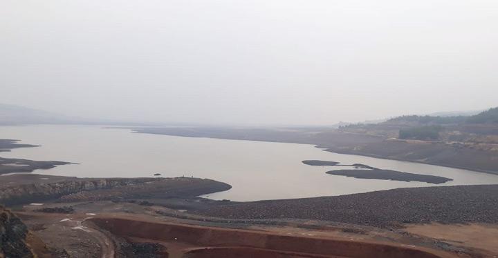 Yükseltilen Tahtaköprü Barajı su tutmaya başladı
