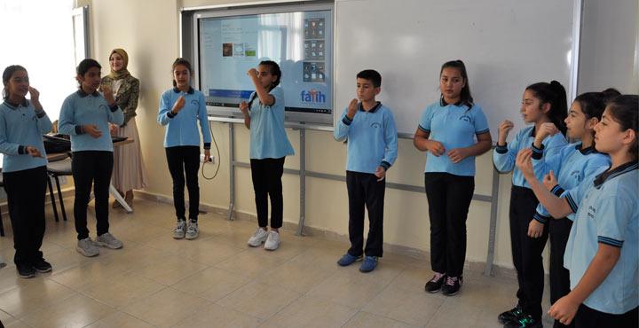 Dörtyol Fen Lisesi Engelliler Gününe Özel Anlamlı Etkinlik