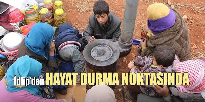 """İdlip'de """"Karabulutları dağıt"""" kampanyası"""