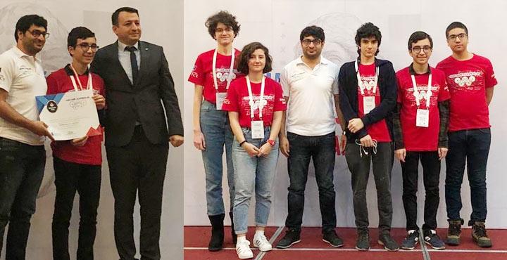 Bahçeşehir Koleji Matematik Olimpiyatlarında Türkiye 2.Si Oldu