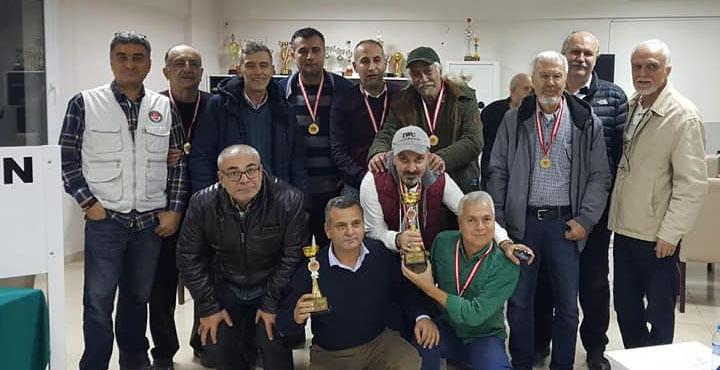 Briçte Hatay Şampiyonu İskenderun Körfez Takımı Oldu
