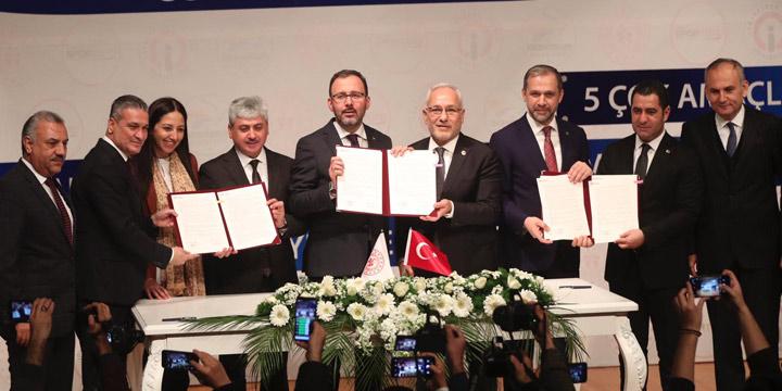 İskenderun Spor Tesisleri için protokol imzalandı