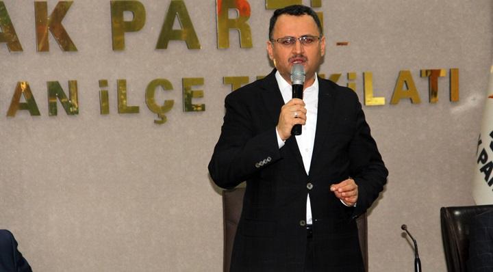 Ak Parti Genel Başkan Yardımcısı Kaçar Kırıkhan'da