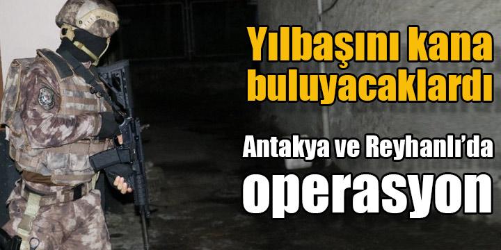 Hatay'da DEAŞ operasyonu; 11 gözaltı