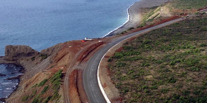 Samandağ-Arsuz yolu hizmete açıldı