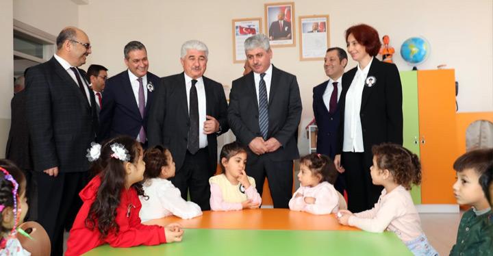Yılmaz Bahadır Amaç Anaokulu'nun açılışı yapıldı