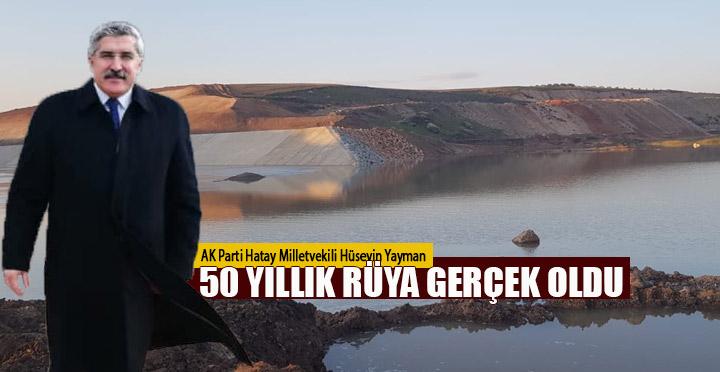 Türkiye'nin en büyük setli barajı su tutmaya başladı..