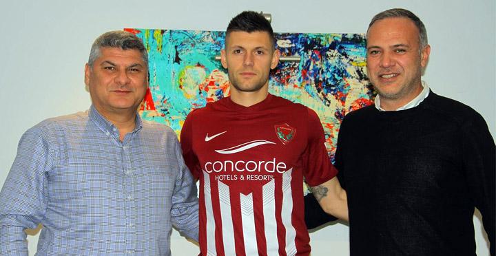 Bulgar Milli futbolcu Popov Hatayspor'da