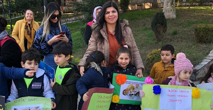 Anasınıfı öğrencilerinden Patili Canlar Projesi Yoğun İlgi Gördü
