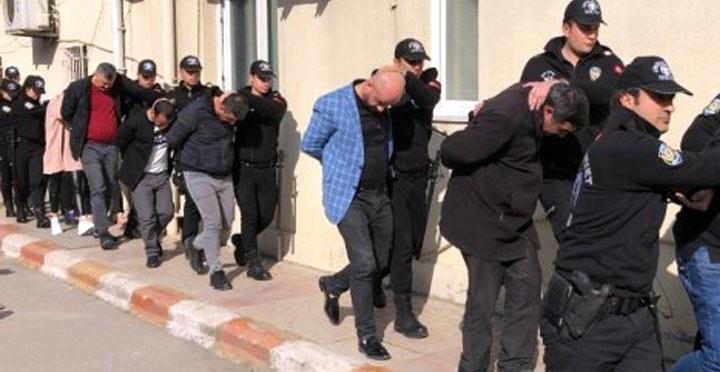 İskenderun'da sahte döviz dolandırıcılığı; 13 gözaltı