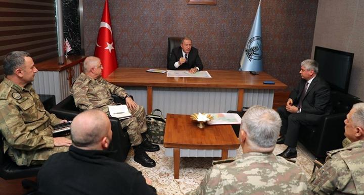 Millî Savunma Bakanı Hulusi Akar Hatay'da