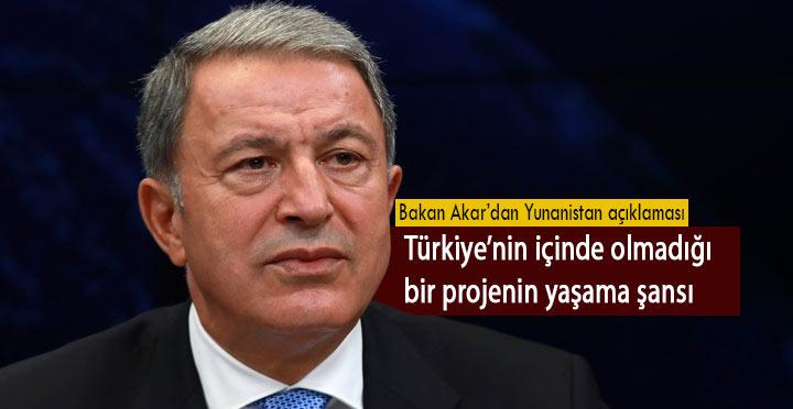 Doğu Akdeniz Türkiye'nin içinde olmadığı bir projenin yaşama şansı yok