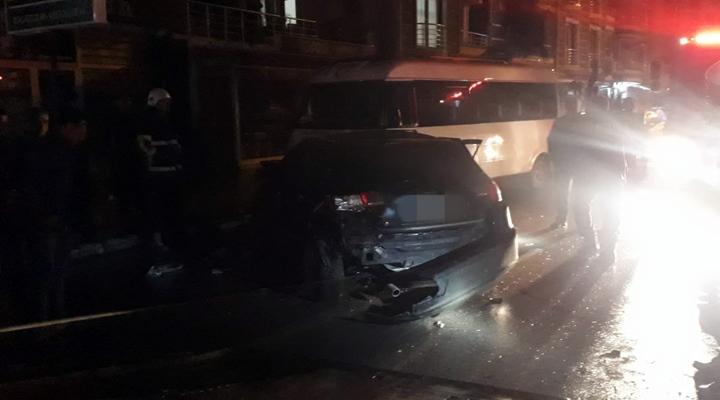 Kırıkhan'da kaza