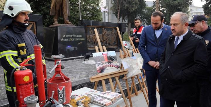 """Kırıkhan'da """"Avrupa 112 Günü"""" Etkinliği Gerçekleşti"""