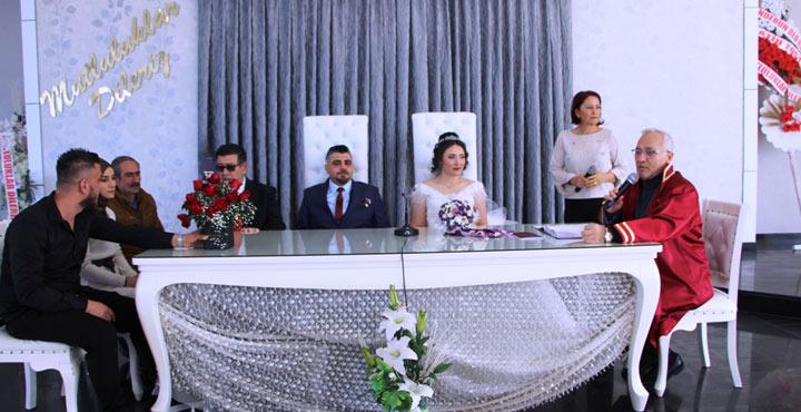 Başkan Tosyalı 100. nikahını kıydı