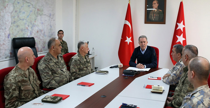 """Bakan Akar Hatay'dan açıkladı: """"309 Rejim Askeri Etkisiz Hale Getirildi"""""""