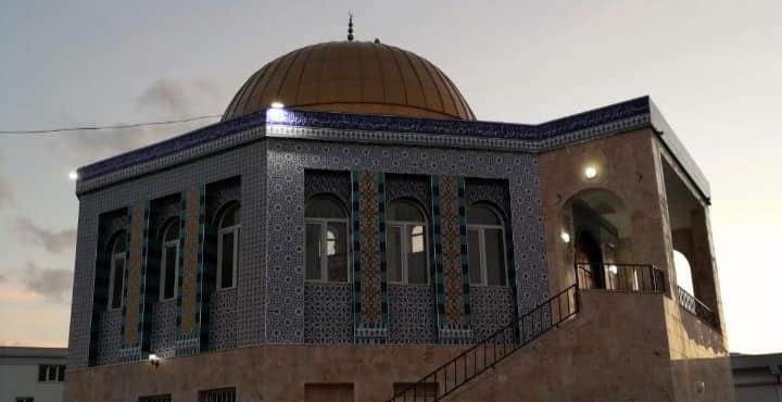 Kubbetül Sahra Camii ibadete açıldı