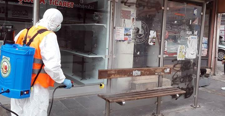 Kırıkhan Belediyesi Koronavirüs tedbirleri alkış aldı