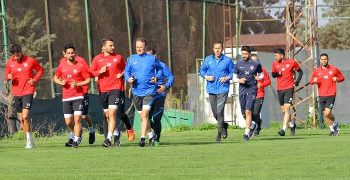 Lider Hatayspor, İstanbulspor maçı hazırlıklarına başladı
