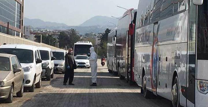 KKTC'den gelen 143 kişi İskenderun'da gözlem altına alındı