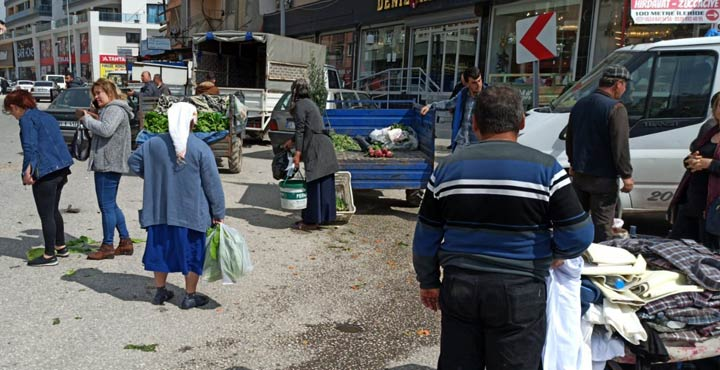 Samandağ'da semt pazarları yasaklandı