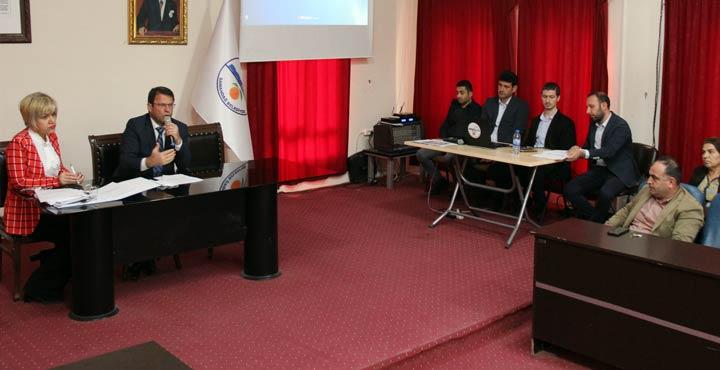 Samandağ'da Meyve  Sebze Kurutma ve Paketleme Tesisi Projesi tanıtıldı