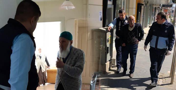 Zabıta ekipleri 65 yaş üstü vatandaşların ihtiyaçlarını karşılıyor