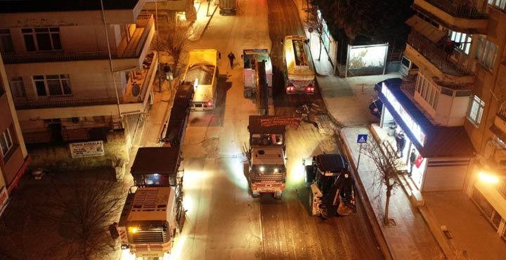 Mehmet Kafadar Caddesi için 24 saat mesai