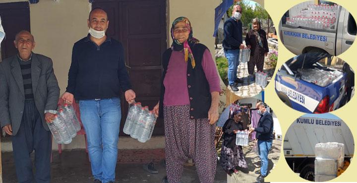 HAYAD'dan 65 yaş üstü vatandaşlara içme suyu desteği